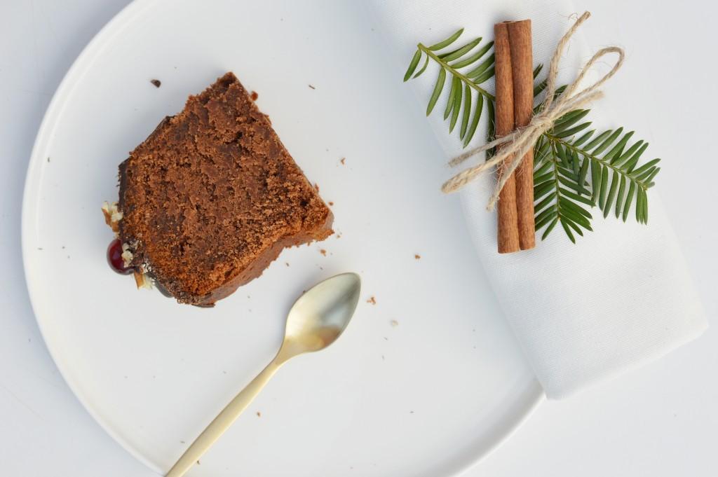 Bundt cake de noël au chocolat Plus une miette