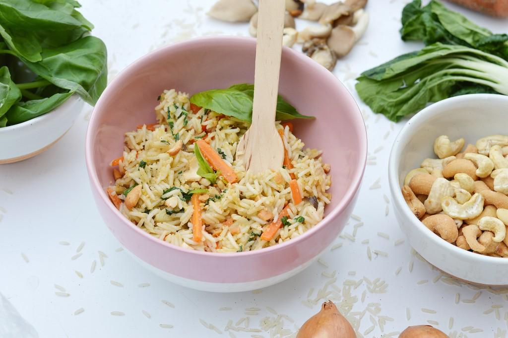 Riz pilaf aux saveurs d'Asie / Plus une miette