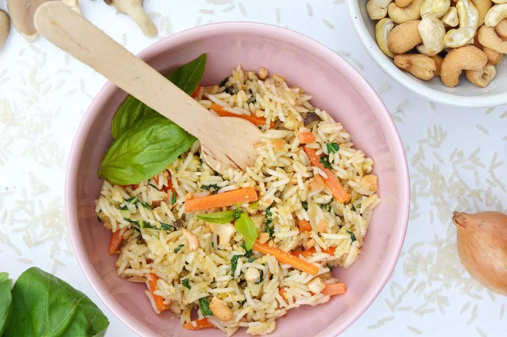 Riz pilaf aux saveurs d'Asie - Plus une miette
