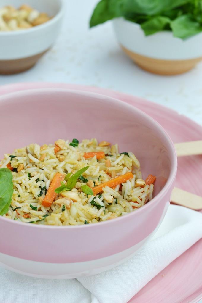 riz pilaf aux saveurs d asie plus une miette dans l 39 assiette. Black Bedroom Furniture Sets. Home Design Ideas