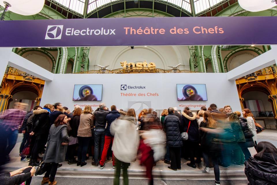 Electrolux Théâtre des chefs - Taste of Paris