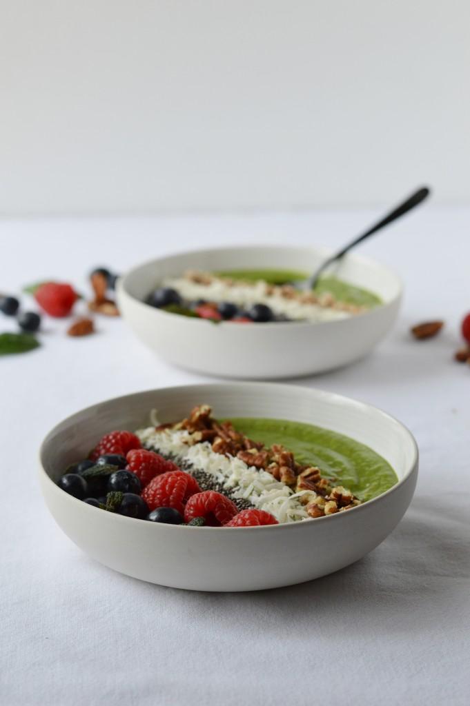 Green smoothie bowl - Plus une miette