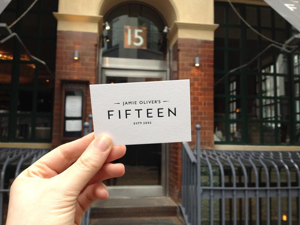 Fifteen - Jamie Oliver