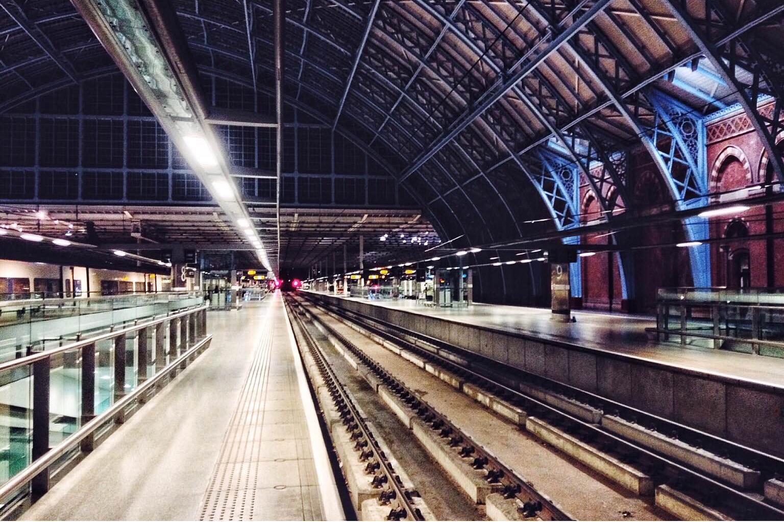 StPancras train station