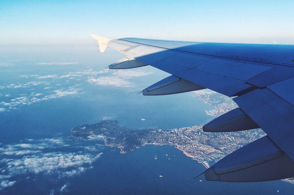 Cannes vu du ciel