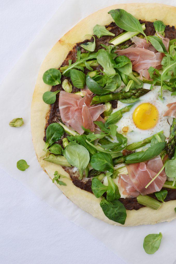 Pizza verde - Plus une miette dans l'assiette