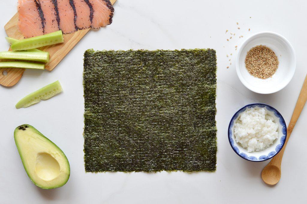Makis saumon - Plus une miette dans l assiette