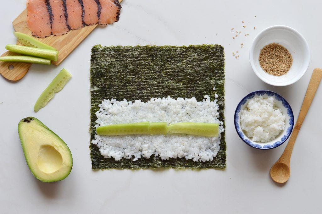 Makis saumon - Plus une miette