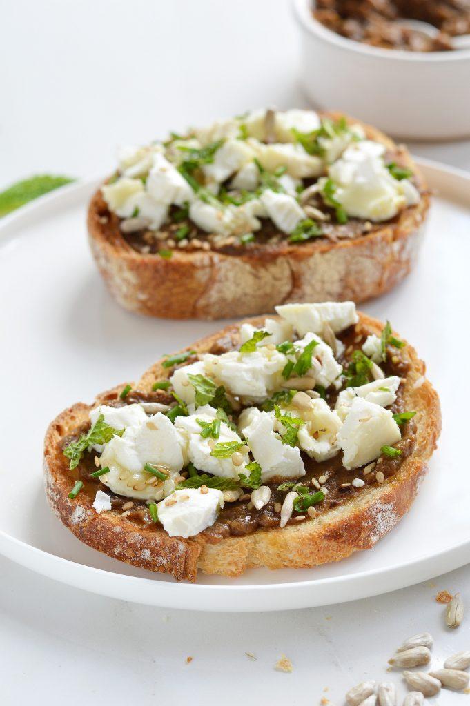 Tartine - Plus une miette dans l'assiette