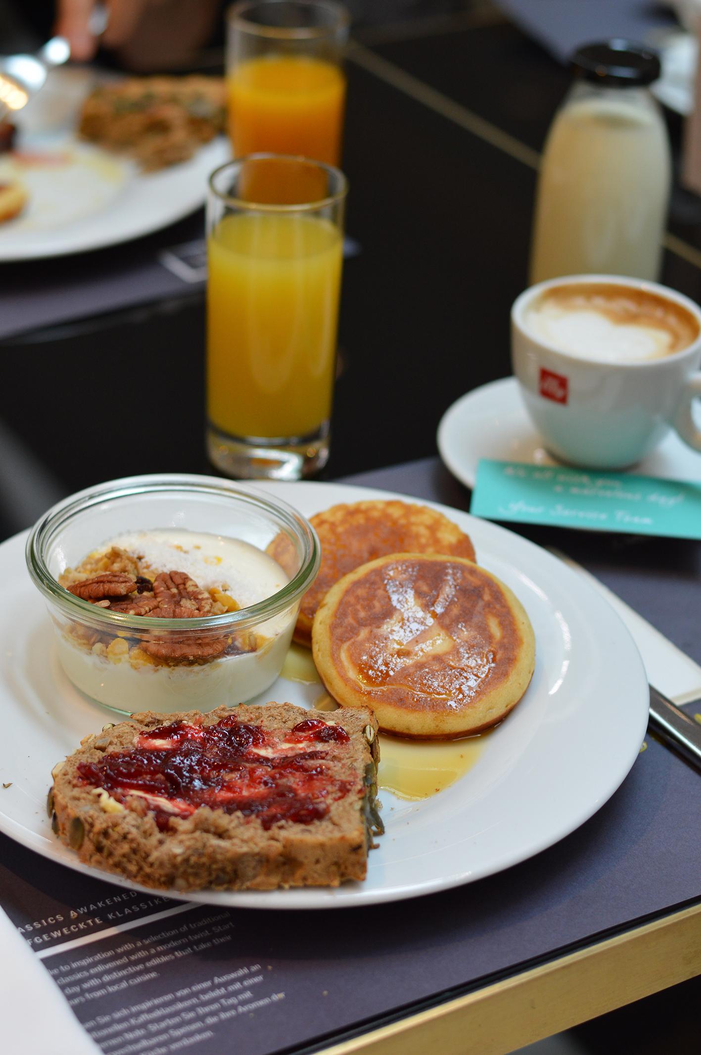 Breakfast - Le Méridien Vienna