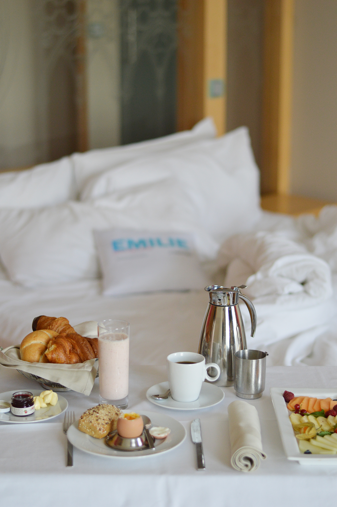 Breakfast in bed - Le Méridien Vienna
