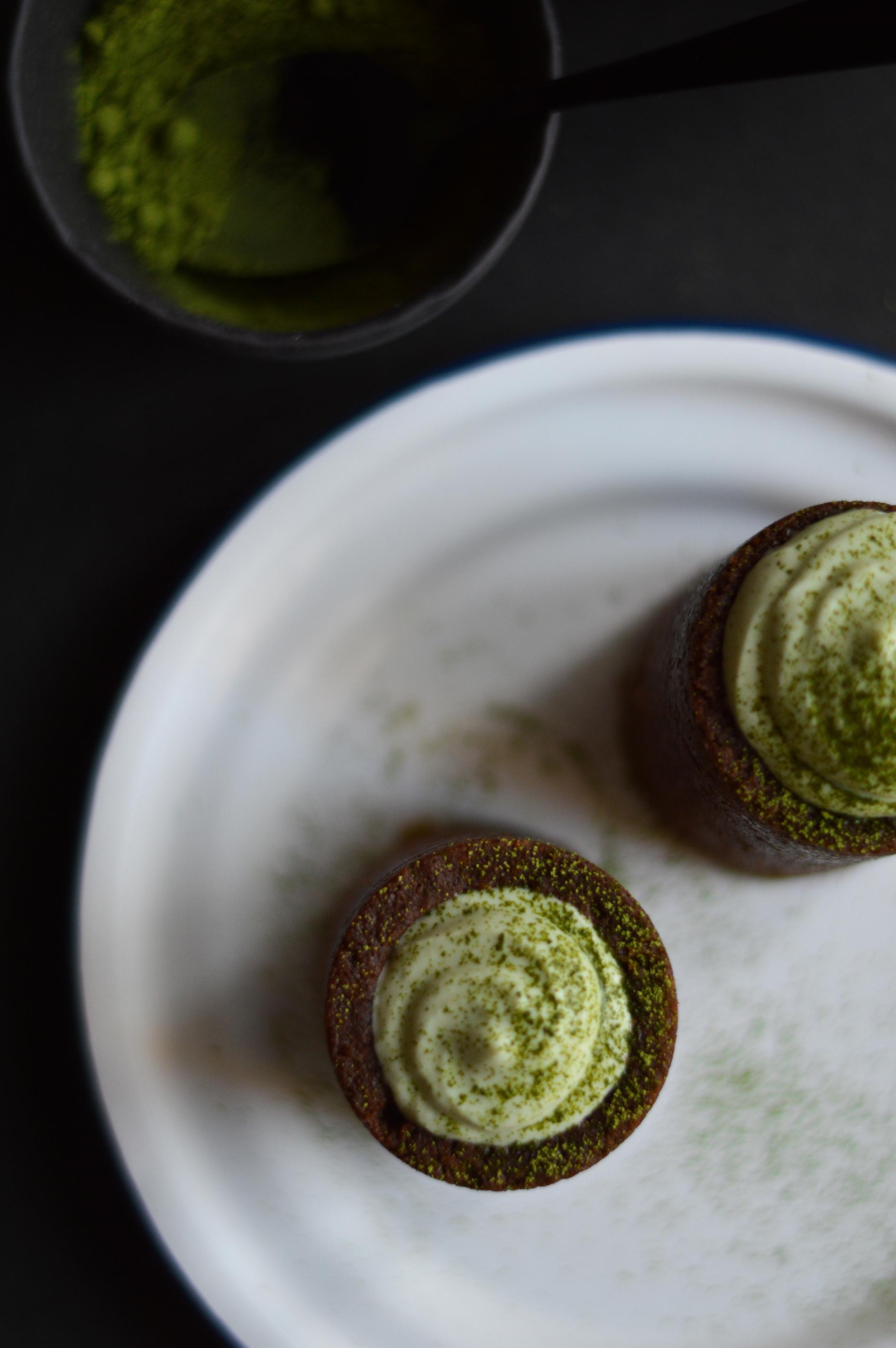 Cookie glass choco-matcha - Plus une miette dans l'assiette