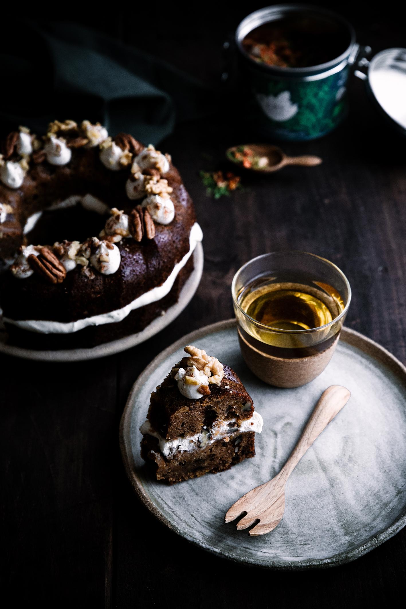 Mug Cake Carotte