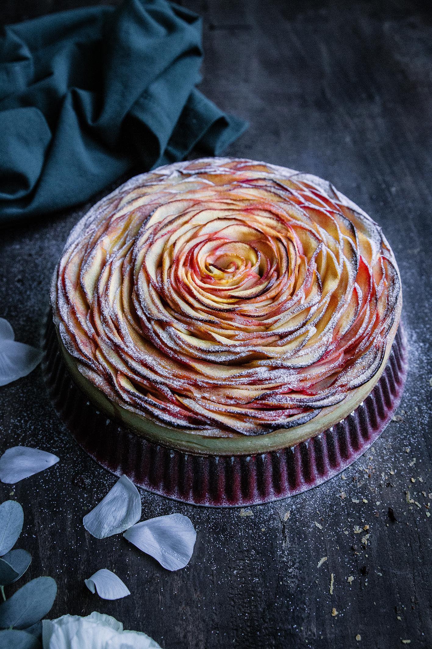 Concours Tarte Rose Aux Pommes Pochees Au Sirop De Fleur De