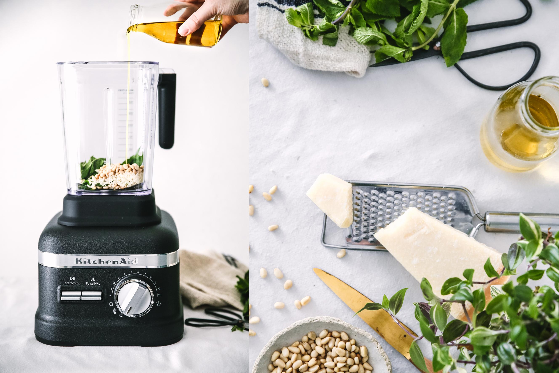 Pesto recipe – Plus une miette