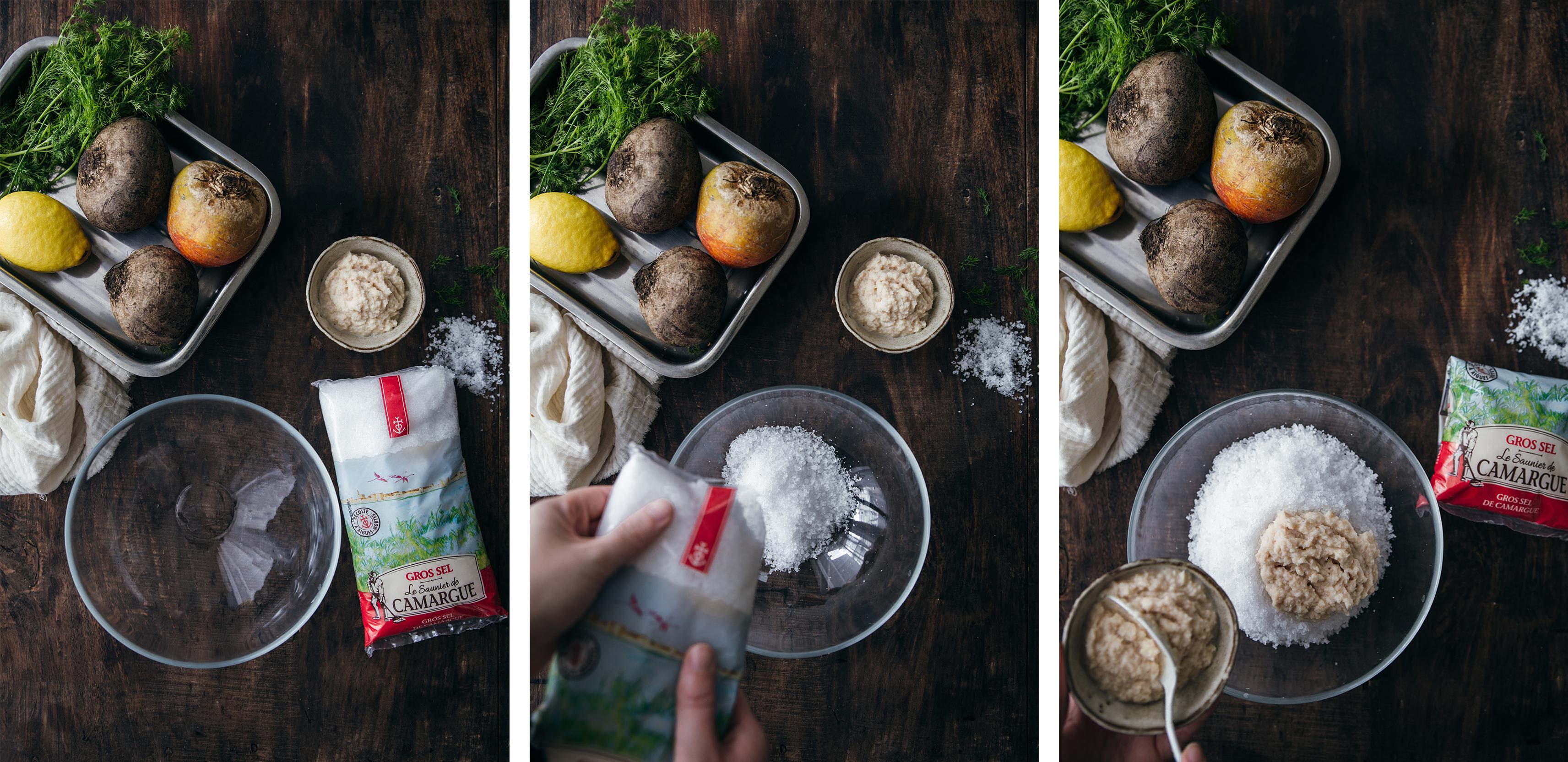 Betterave en croute de sel par Plus une miette dans l'assiette